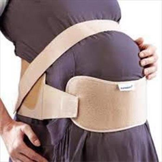 تصویر از شکم بند بارداری کشی سایز M