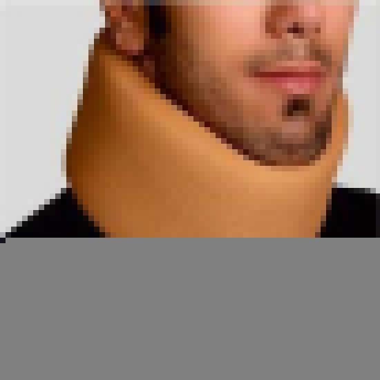 تصویر از گردنبند اسفنجی قوس دار XL