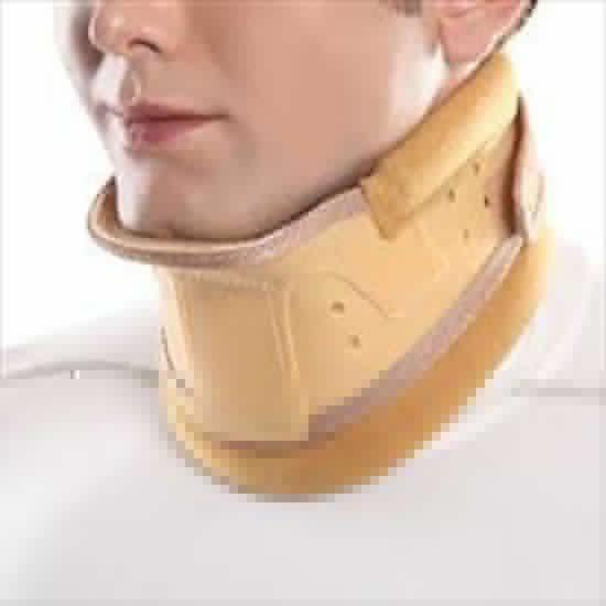 تصویر از گردنبند طبی سخت چانه دارسایز XL