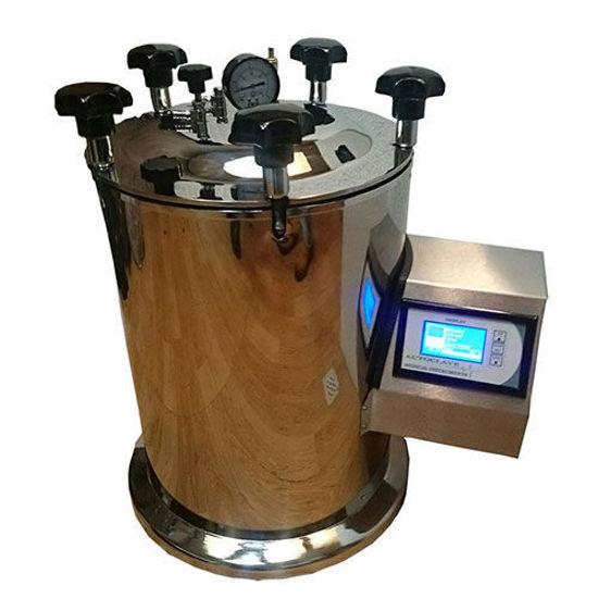 تصویر از اتوکلاو آزمایشگاهی عمودی آزما سلول آریا