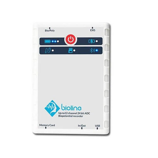 تصویر از دستگاه نوروفیدبک ۳ کاناله Bioline