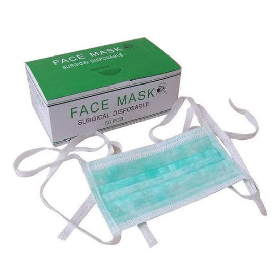 تصویر از ماسک سه لایه بنددار