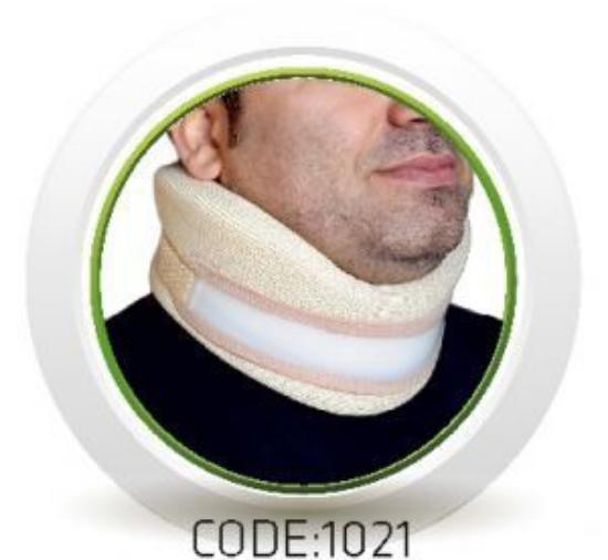 تصویر از گردنبند اسفنجی نیمه سخت سماطب