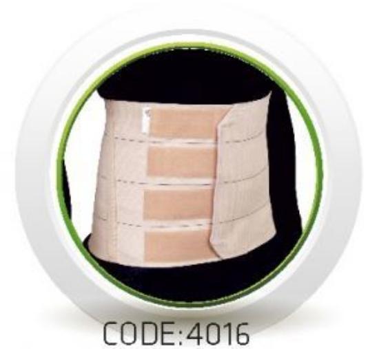 تصویر از شکم بند قابل تنظیم پل دار سماطب