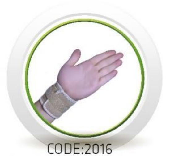 تصویر از مچ بند قابل تنظیم نئوپرن سماطب